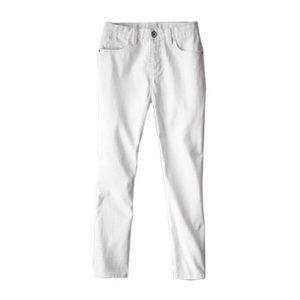 Calvin Klein skinny crop white denim 5-pocket